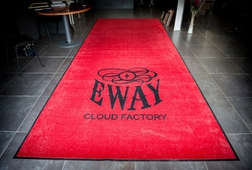ENTRANCE MATS UK - LOGO - PREMIUM LOGO MAT EWAY